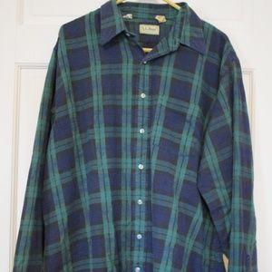 L.L. Bean mens L/S Flannel Shirt